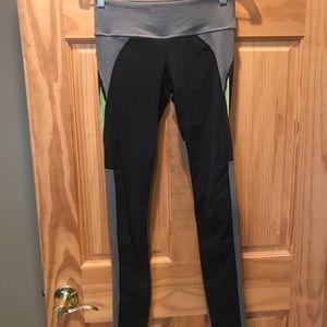 PB Layla Tights, Black/Grey/Green